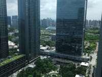 惠州地标,华贸大厦,写字楼,带装修,低价出售,可看江!!!