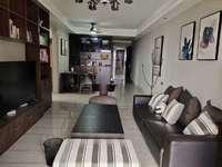 中洲天御.温馨小家庭首选 小3房豪华装修,现代简易文艺风格,视线无遮挡,看房预约