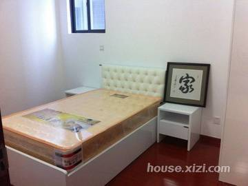 德明合立方国际公寓样板房-卧室