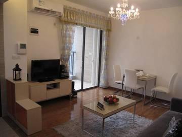 德明合立方国际公寓样板房-客厅