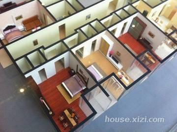 德明合立方国际公寓 户型模型
