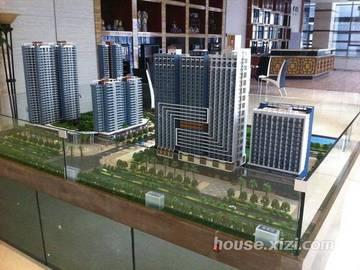 德明合立方国际公寓 沙盘模型