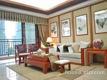 瑞峰公园里-样板房-客厅