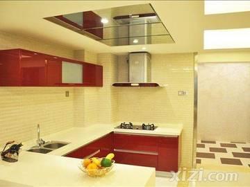 鹏达御西湖120平米2+1房厨房