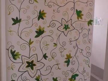 概念样板房-墙壁