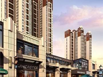 隆生文岭西堤 商业街效果图