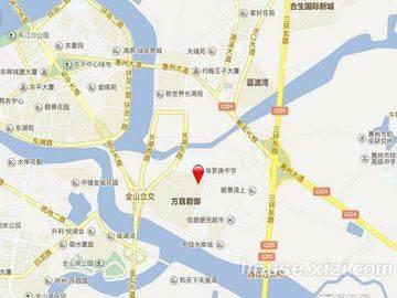 隆生文岭西堤 区位图