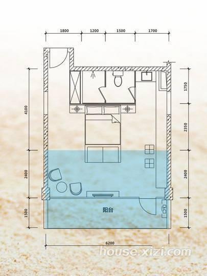 海歌居户型
