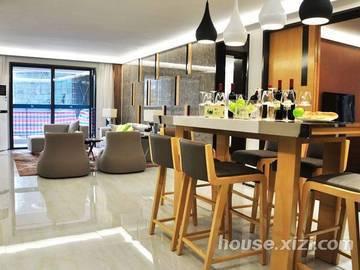 鸿润·叠韵143平米餐厅+客厅