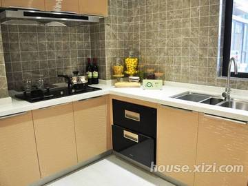 鸿润·叠韵143平米厨房