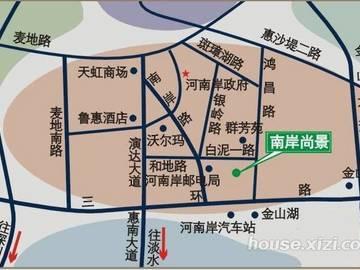 南岸尚景交通图