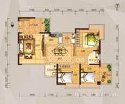 04户型三房两厅两卫-106平米