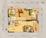 01户型三房两厅-88平米