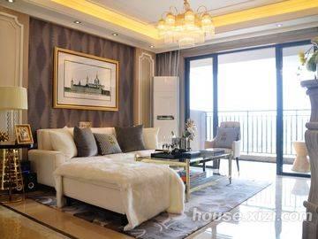 中洲·天御3栋119平客厅
