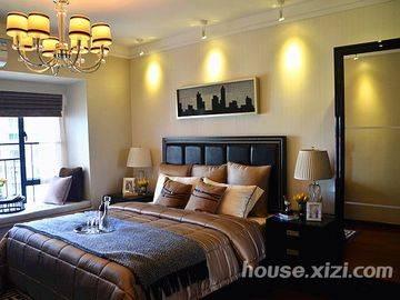 富力现代广场-样板间-卧室