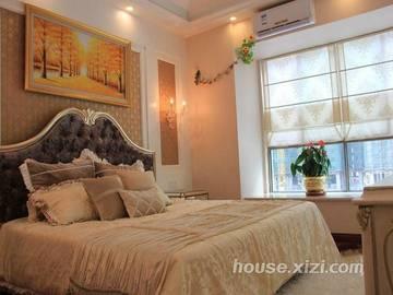 嘉逸园5栋01户型134平米样板房卧室