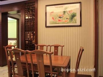 嘉逸园5栋02户型133.8平米样板房餐厅