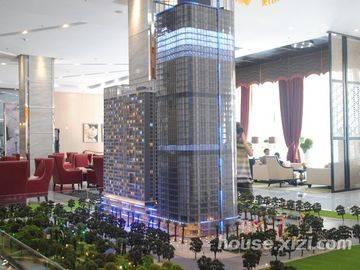 大隆财富广场沙盘模型