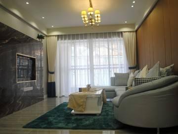 上城styleA户型89平客厅