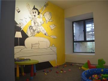 康城四季 样板房 儿童房