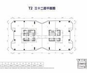 佳兆业ICC  T2-32层平面图