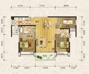 合生上观国际六期131平米3房户型
