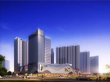 鑫月广场·欢乐海湾 效果图