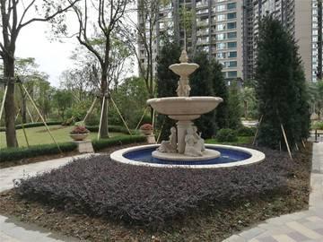 鼎峰国汇山 园林实景图