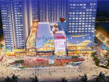 鑫月广场·欢乐海湾 商业鸟瞰图
