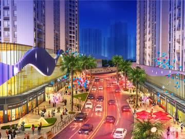 鑫月广场·欢乐海湾 商业效果图
