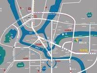 9.6米层高 3层使用空间 富盈公馆江景豪宅 后门可达小区内 租金单价40一平