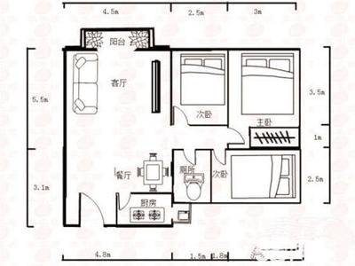 金山湖浩盛嘉泽园四房两厅115平方出售