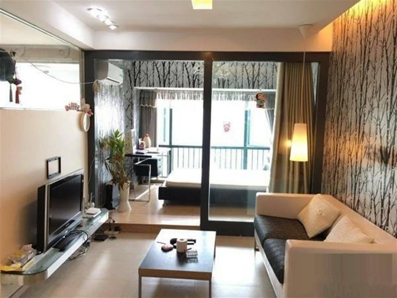 港惠商圈高档楼盘 华晟豪庭精装一居室 巴比伦建筑式空中花园