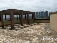 此房带200平露台南北通透,可看江,161平方,隆生文岭西堤