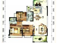 铂金广场三房两厅两卫120平米