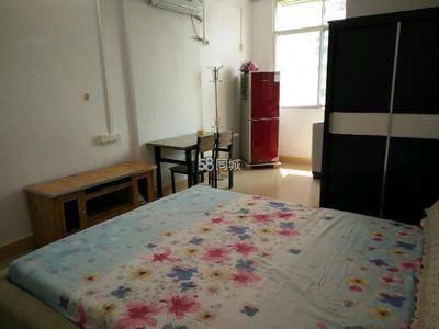 美地花园城对面公寓式单房家具家电齐全拎包入住