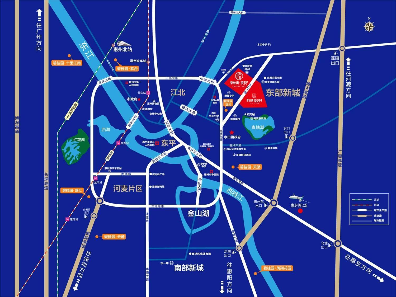 碧桂园·珑悦花园交通图