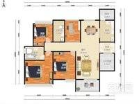 金山新城 方直君御 高端豪宅小区 4 1户型 南北通 使用率高 小区最好户型之一