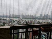 下角润宇广场电梯4房2厅 一线江景房 117.9平仅售110万
