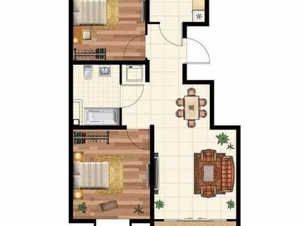 麦地中心花园式园林小区 南翠花园 标准住家式两房投姿居家力荐