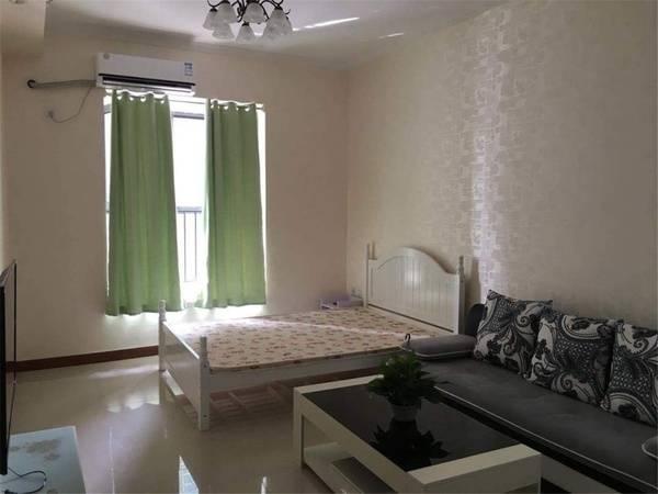 下埔滨江公园旁 水印尚堤精装标准一房一厅可看江景 带双