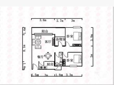 三环天虹商圈 大型花园小区 美地花园城 精装21房拎包入住