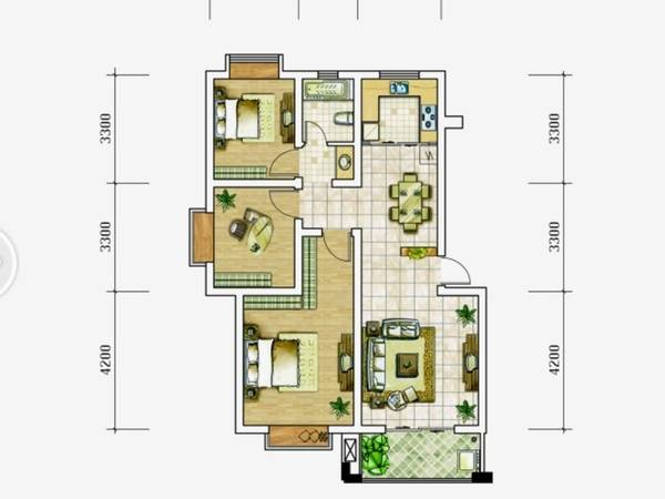 真实笋盘麦地花园式小区 南翠花园 优越位置 格局好居家适宜