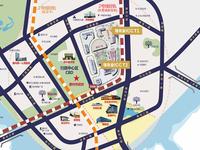 江北佳兆业中心一室公寓带花园带租约低于市场价
