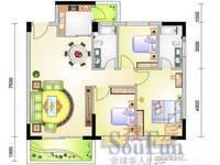 金山湖片区启明苑3室2厅2卫116平米125万住宅