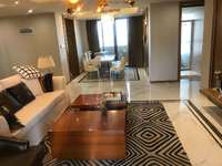 江北 泰宇城市中央 130平米豪华装修 南北通透方正4房 仅售165万