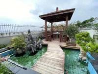 金山湖稀缺顶楼复式,装修花了百多万,带私家花园!