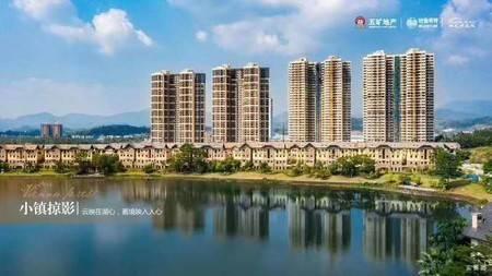 奥地利小镇 4A旅游景区 惠州一中学位 85平到160平高层湖景洋房