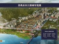 惠州最大楼盘 自带博罗佳兆业学校 和大公园 环境大盘 74平到140平