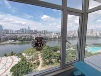 城市一号公寓稀缺双大窗新装修江景房租金1000元